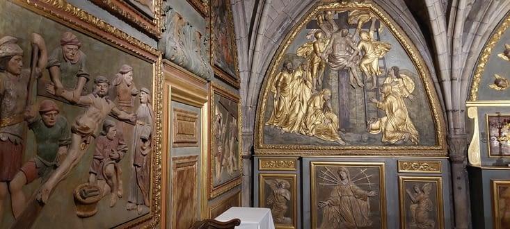 Sa chapelle, un brin plus cinquante, mais belle