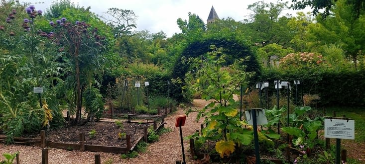 Son jardin médiéval
