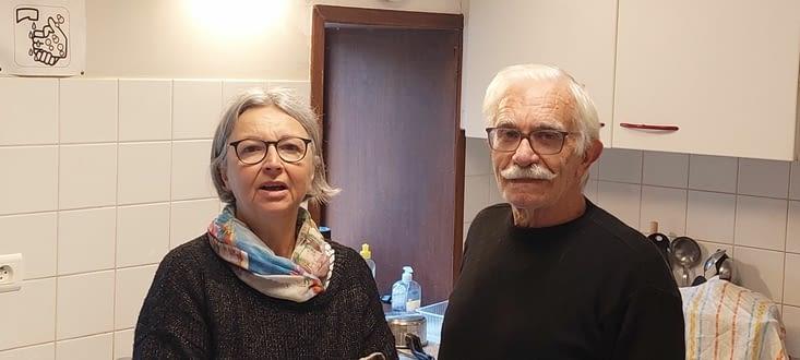 Sylvie et Serge, nos hospitaliers de Béthanie d'allouer, à Gramat