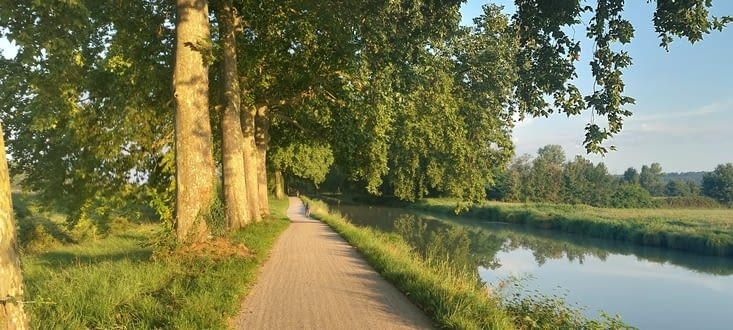 Le canal....
