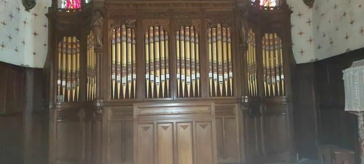Marsolan et son orgue