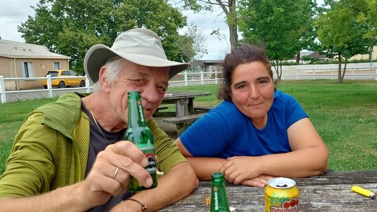 Et petite bière avec Maïté