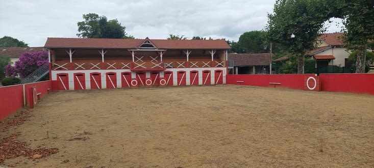 L'arène de Manciet....
