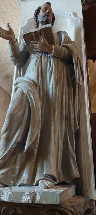 Une belle statue...