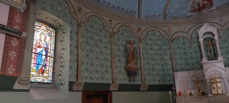 J'aime ces 'peintures' sur les murs