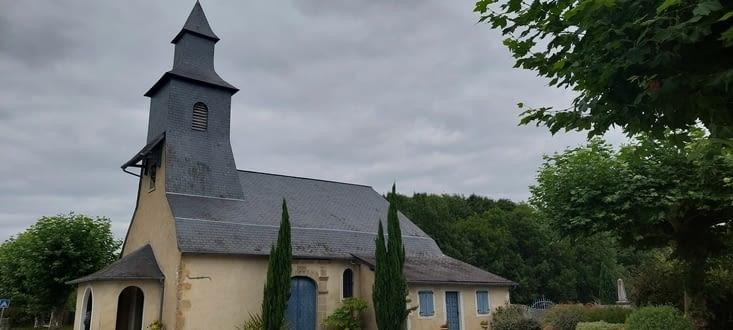 L'église de Géus
