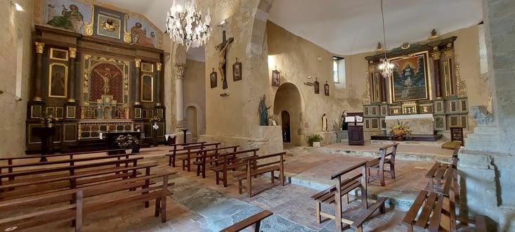 L'église de Larreule, abbaye St Pierre, XIIIe siècle