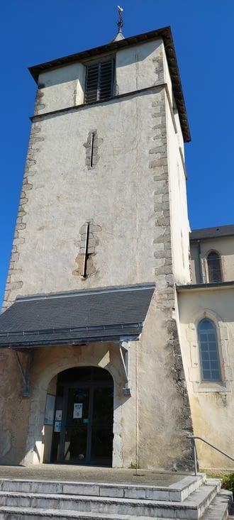 L'église, fermée...