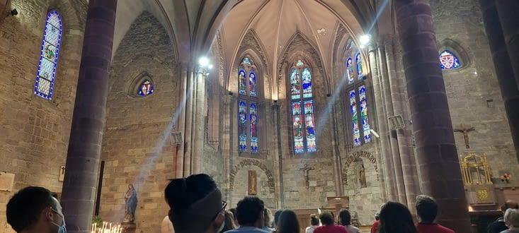 La messe des pèlerins