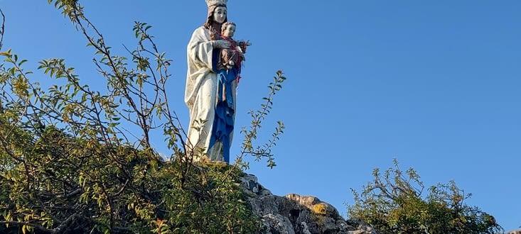 La Vierge d'Orisson, ou de Biakorri, 1096 m