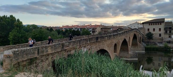 Le pont des pèlerins...