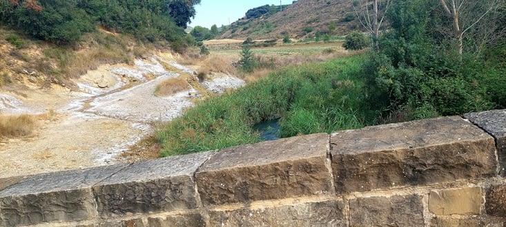 Le Rio Salado, salé comme son nom l'indique, sa source traverse des salines