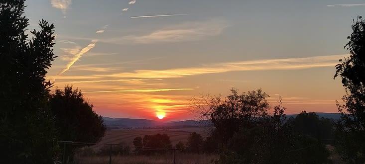 C'est pas que je me lève plus tôt, mais le soleil plus tard, qui me permet ces photos
