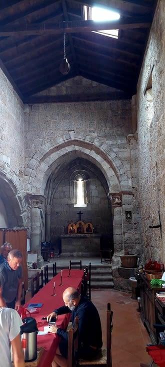 Tenu par une association italienne, dans une ancienne chapelle