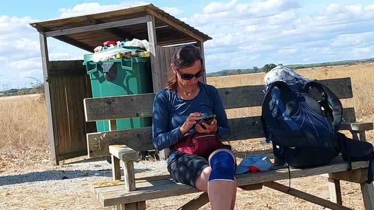 Julia, de Slovaquie, m'envoie la photo qu'elle a prise, et c'est pas un pourriel....