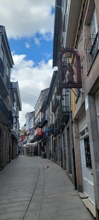 Sarria, une jolie petite ville