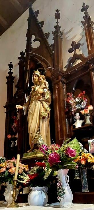 Grâce aux pèlerins espagnols et leur 'course aux tampons', les plus petites églises sont
