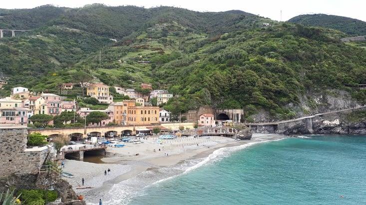 En arrivant à Monterosso