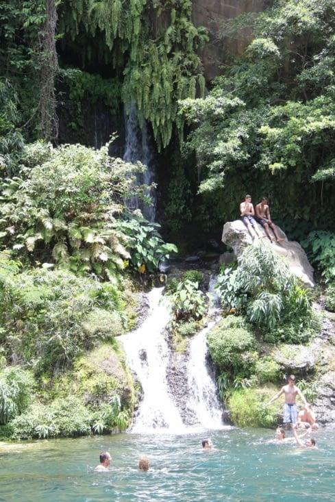 Cascade du bassin des Aigrettes