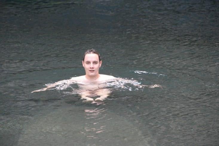 Le voilà dans le bassin Malheur