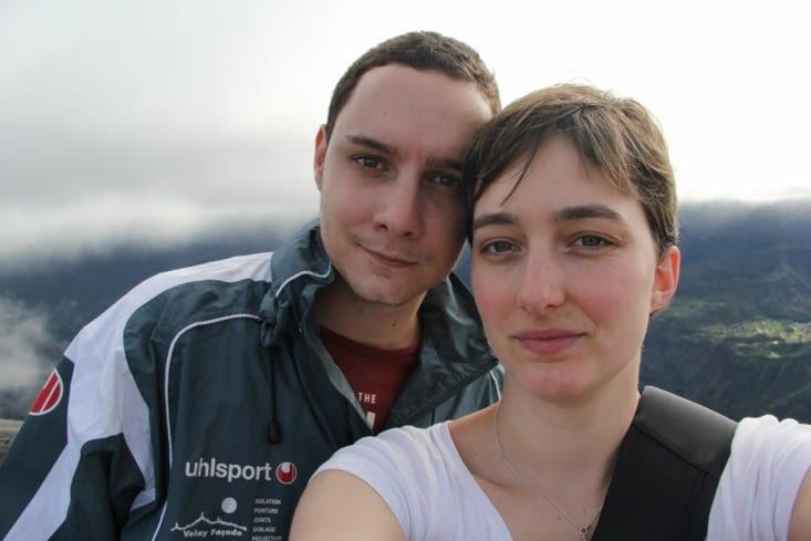 Petit selfie à 2190 m d'altitude