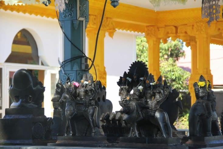 Statues du temple