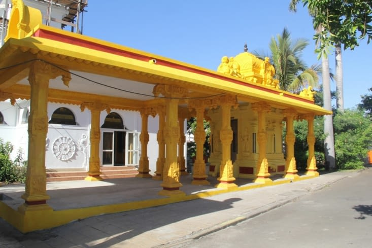 Temple tamoul très coloré
