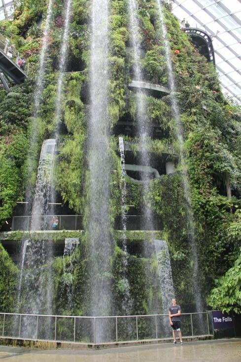 La fameuse cascade