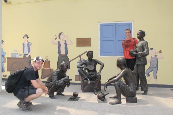 Sculptures de rue