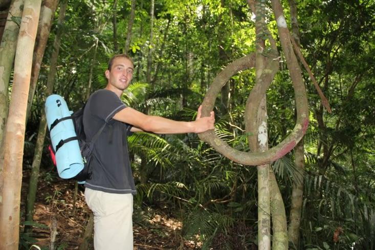 Loïc rêve de jouer Tarzan