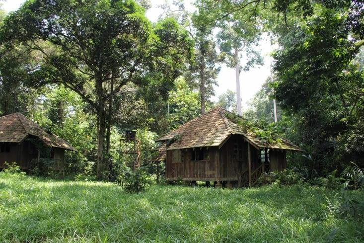 Site touristique abandonné