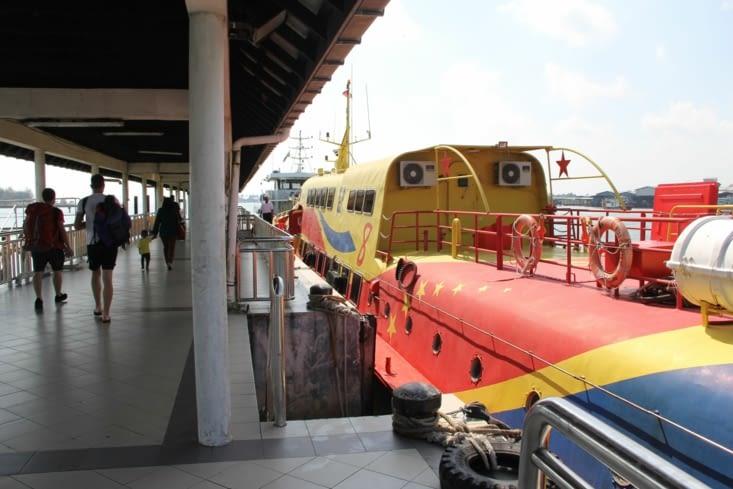 Notre bateau futuriste