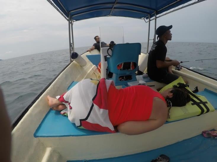 Solution contre le mal de mer : dormir !