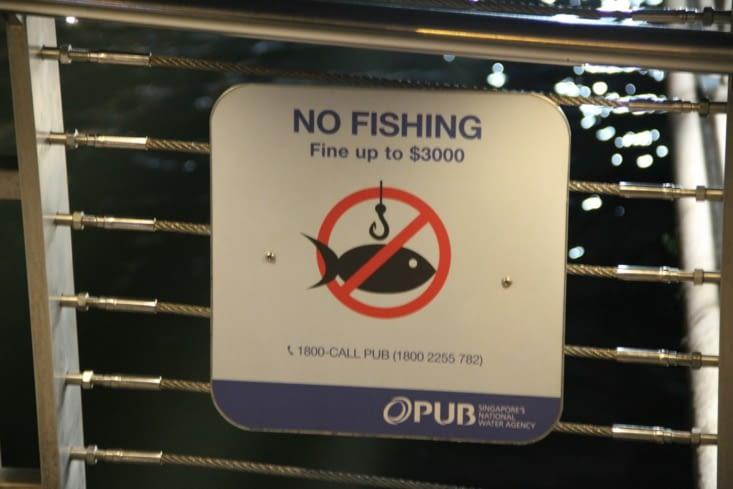 Petit avertissement aux pêcheurs !