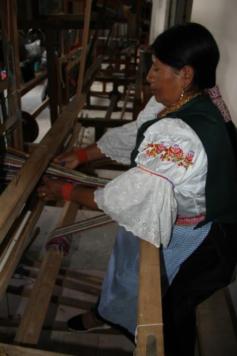 Tisserande de San Pedro (machine utilisée après la colonisation)