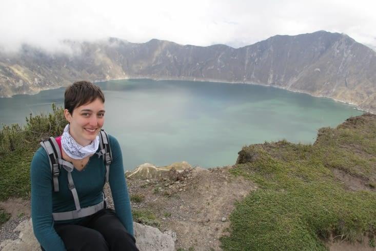 Le lac vue d'en haut