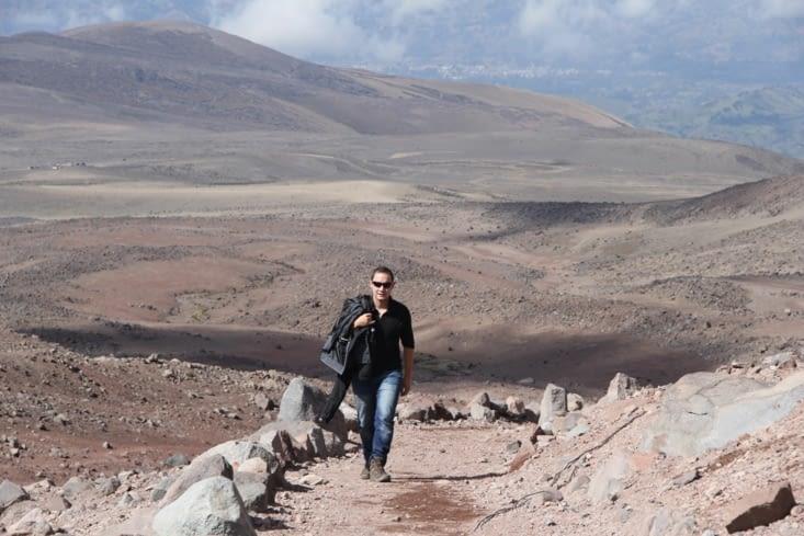 Néo (dans Matrix) au Chimborazo