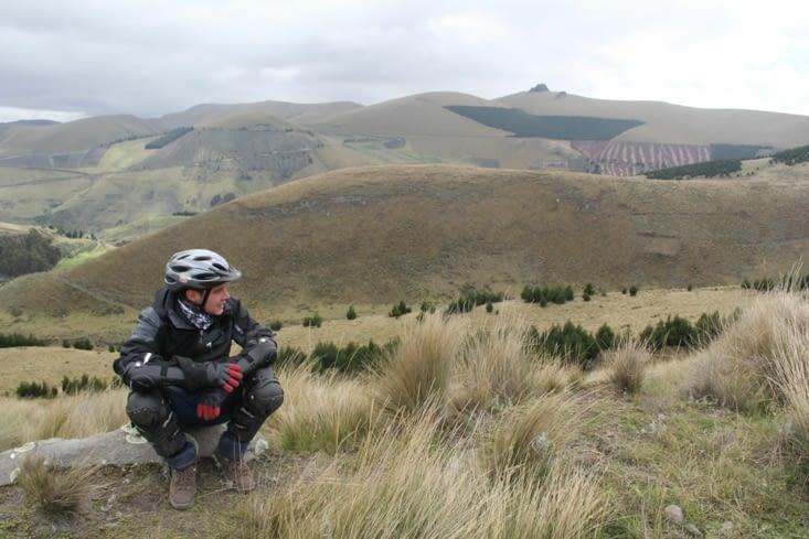 Paysage autour du Chimborazo