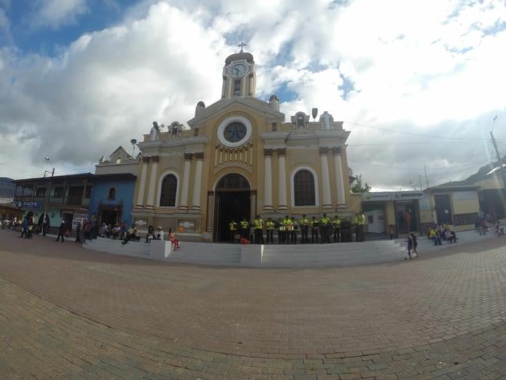 Concert devant l'église