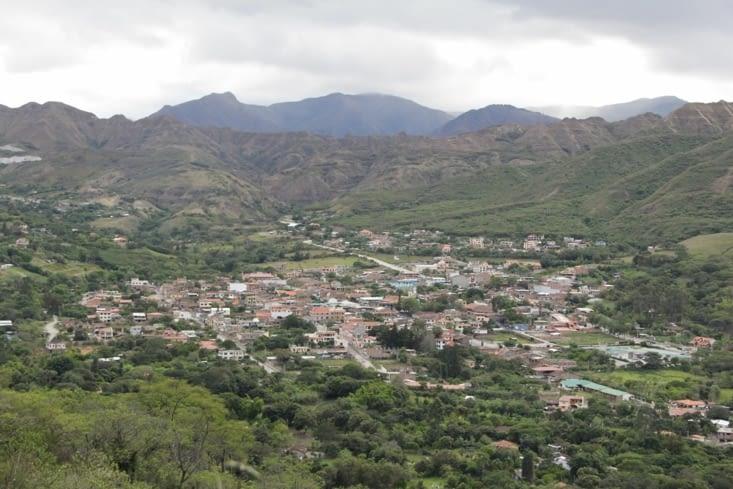 La ville vue de la réserve