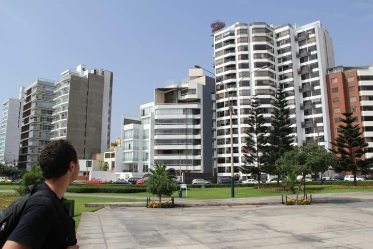 Le quartier de Miraflores