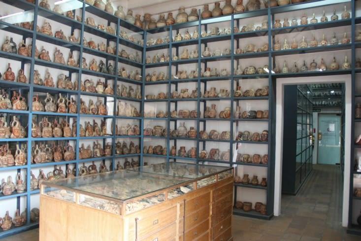Les stocks du musée