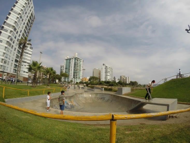 Skate parc de Lima