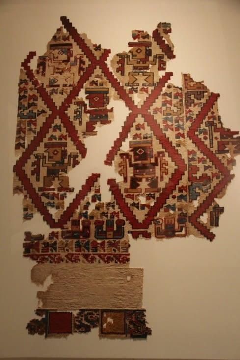 Textile Mochica-Huari