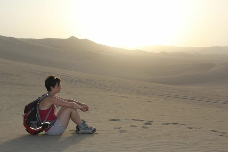Dans la dune (lune) !