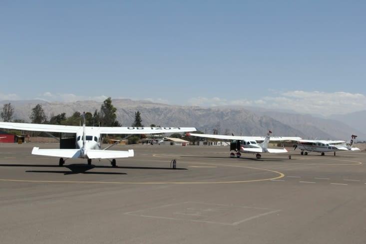 L'aéroport de Nazca