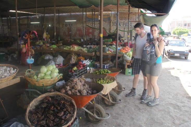 Le marché de Nazca