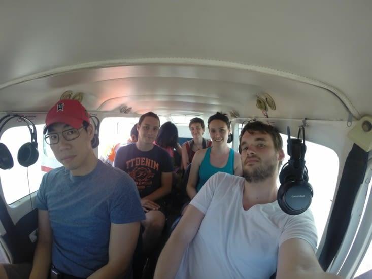 Nos places dans l'avion