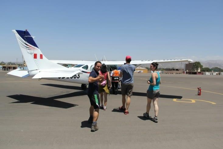 Positionnement dans l'avion en fonction du poids