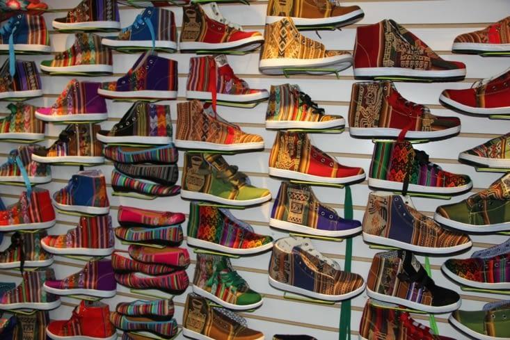 Dans les boutiques de Cusco...